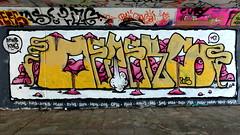 Graffiti Overschie (oerendhard1) Tags: urban streetart art graffiti rotterdam overschie kms asem tunneltje atwb
