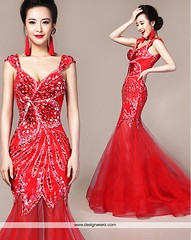 DE Breathtaking Beaded Floor Length Red Engagement Gown Dress (Designer Era) Tags: wedding red net girl shop shopping beads engagement women long dress floor designer indian traditional wear reception trendy online western buy gown gowns length ethnic embroidered stylish girlish sequin partywear indowestern