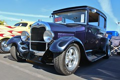 2nd Annual Back in the Day Classics Holiday Show (USautos98) Tags: ford modela flames hotrod custom streetrod 1929