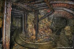 U (Reviersteiger) Tags: abandoned abandonedmines bergbau untertage erzbergwerk altbergbau streckenausbau stillgelegtebergwerke