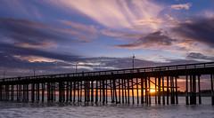 RRSF1245 (zzra) Tags: ocean sunset clouds pier ventura