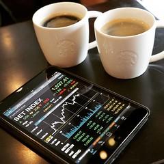 จิบกาแฟ ท่องเน็ต เล่นหุ้น...ก็รวยได้ง่ายนิดเดียว ❤️