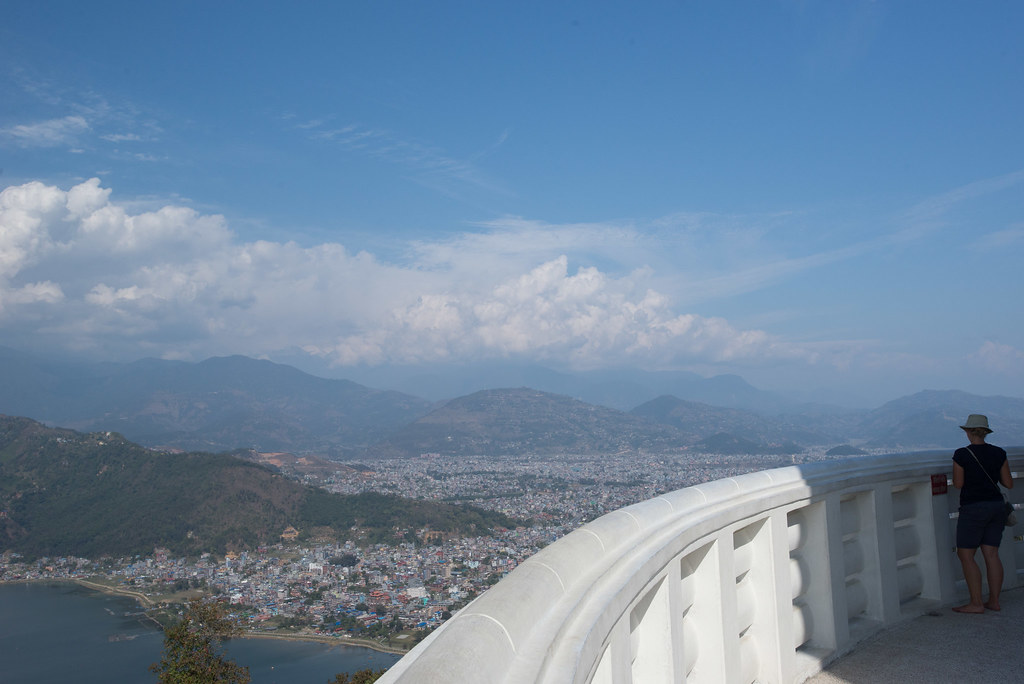 View from the Peace pagoda