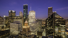 Downtown Houston Skyline - The West Side (Mabry Campbell) Tags: morning windows usa building skyline architecture floors skyscraper sunrise buildings photography lights morninglight us photo downtown cityscape texas photographer exterior realestate skyscrapers unitedstates image fav50 houston nopeople fav20 september photograph commercial cameron 100 f56 fav30 client levels fineartphotography esperson 2014 architecturalphotography 17mm colorimage commercialphotography fav10 commercialrealestate commercialproperty fav100 harriscounty fav40 fav60 architecturephotography fav90 wellsfargoplaza fav80 pennzoilplace officelights fav70 50sec centerpointenergyplaza centerpointenergy houstonphotographer tse17mmf4l mabrycampbell september112014 20140911h6a8371