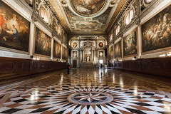 Confraternity of St. Roch (Bakermonk) Tags: venice italy fall church paintings brotherhood redemption titian 2015 tintoretto interier confraternity