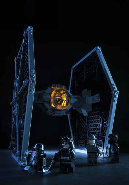 Star Wars Tie Fighter.