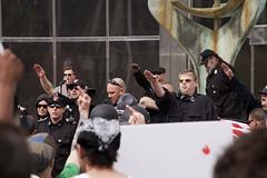 IMG_7218 (Wespennest) Tags: ohio demo spring cops nazi nazis protest police demonstration toledo armor april riotpolice riotcops neonazis nsm bodyarmor jeffschoep nationalsocialistmovement kenkrause