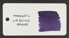 Noodler's La Reine Mauve - Word Card