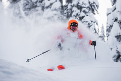 Getting Pitted (Last Frontier Heliskiing) Tags: winter light vacation two canada ski tree last forest fun skiing bc bell columbia lodge skeena stewart british smithers heli frontier heliski heliskiing heliboarding lastfrontier bell2 helicopterskiing heliskibc lastfrontierheli