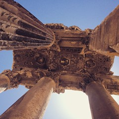 Among the famous roman temples in #Baalbek #Lebanon, the largest roman temple complex in the world