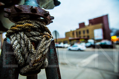 Anchor (Scifr) Tags: park street urban chicago color wheel metal closeup canon illinois saturated random rope canon5d fullframe wicker ultrawide randon widelens anckor canon1635mmf28ii canon5dmarkiii