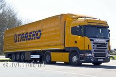 Scania R420  Trasko  150418-0128-c1  JVL.Holland (JVL.Holland John & Vera) Tags: holland netherlands truck canon europe transport nederland groningen vrachtwagen vervoer trasko scaniar420 jvlholland