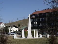 Obelisk in Zgornja Kungota, Slovenia (Norbert Bnhidi) Tags: slovenia kungota zgornjakungota statue sculpture szobor slowenien eslovenia slovnie eslovnia eslovnia sloveni  szlovnia slovenija