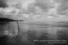 Riserva Naturale Regionale Punta Aderci (itzel1984) Tags: riservapuntaaderci vasto abbruzzo italy biancoenero bw nikond40 vacanza mare sea holiday maredinverno nuvole