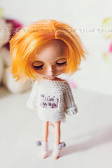 New jumper for Blythe in my Etsy♥