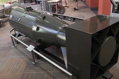 DSCF1561.jpg (mikepirnat) Tags: bradburysciencemuseum littleboy losalamos newmexico atomicbomb bomb history model museum museums replica travel vacation