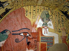 Tombe de Pashedou (Pasched) - Dtail du mur Ouest (nosferatu76000) Tags: egypte nil art tombe architecture histoire