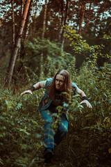 IMG_5150 (rodinaat) Tags: longhair longhairman longhairedman longhaired beard bearded metal metalhead powermetal trashmetal guitar musican guitarplayer brutal forest summer sun