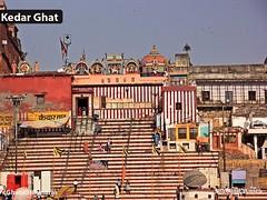 Kedar Ghat (Serenity Routes) Tags: travel india river varanasi kashi ganga banaras ghat kedar spritual serenityroutes