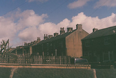 Agfa PVP 400 // Halifax (SeenPhotography) Tags: agfa pvp photo vista plus 200 35mm film asda develop scan halifax warley road clouds terraced house