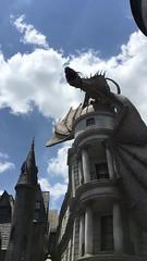 Drago do Diagon Alley cuspindo fogo! (MaryPhotos) Tags: harrypotter diagonal beco drago universal universalstudios diagonalley