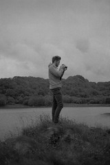 Chimping ; P (PicturesThatIDoneTook) Tags: canon ae1p fd film analog ilford delta ilforddelta bw