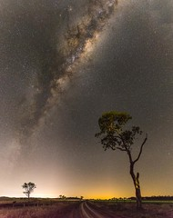 Let There Be Light (andrew.walker28) Tags: milky way stars night starlight galactic centre center core galaxy light pollution farmland landscape long exposure