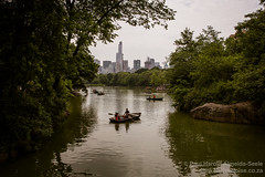 The Lake in Central Park, New York