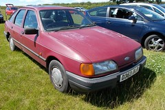 1987 FORD SIERRA 1800 GL 1796cc D363DLR (Midlands Vehicle Photographer.) Tags: 1987 ford sierra 1800 gl 1796cc d363dlr