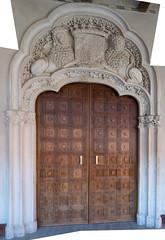 Fancy door pano (petyr.rahl) Tags: spain zaragoza aljafería aragón es