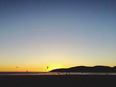 """Sunset with seagulls at beach in Costa Da Morte (literally, """"shore of death""""), A Corua, Galicia. Atardecer con gaviotas en una playa de Costa Da Morte, A Corua. Sunset Seagull Gaviota Costa Da Morte Corua Galicia, Spain Calmness Relaxing (algroin) Tags: sunset spain corua seagull relaxing galicia gaviota calmness costadamorte"""
