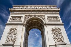 Arc de triomphe (AntLab75) Tags: monument architecture paris arcdetriomphe