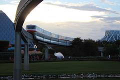 Evening Monorail (iainthomson84) Tags: walt disney world orlando florida usa 2016 july epcot experimental prototype community of tomorrow summer monorail