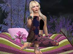 Boho_2 (Enya T.) Tags: secondlife sl enya boho hippie chillin flowers outdoors