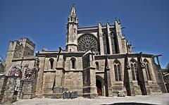 Remparts de Carcassonne (laurent KB) Tags: aude remparts chateau glise carcassonne