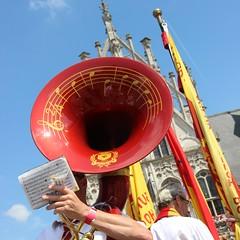 harmonie KV-Mechelen (mechelenblogt_jan) Tags: malinwa mechelen kvmechelen grotemarkt stadhuis