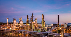 Cherry Point refinery at sunset_LargeImage (BP_images) Tags: cherry point refinery bp energy oil gas
