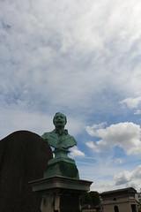 Jos Frapper (So_P) Tags: sculpture funraire cimetire ouest boulogne billancourt pokemongo buste