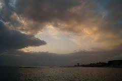 Heart in the sky (BarbaraBonanno BNNRRB) Tags: heart sky cielo cuore nuvole sea mare marinadimassa scogliera dellamore bnnrrb