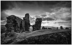 The castle ruins (Hugh Stanton) Tags: castle ruins llangollen stormy appickoftheweek