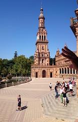 'Hand Gesture' (EZTD) Tags: eztd eztdphotography eztdphotos photos fotos sevilla seville sevilha spain espana espagne spana plazadeespaa spainsquare hand tourists touristes sonyz1compact
