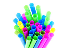 Project 366 - 8/12/2016 - 225/366 (cathy.scola) Tags: project365 project366 odc straws onwhite colorful
