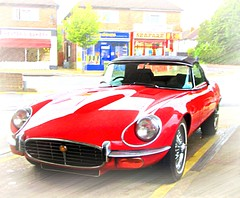 1972 E-type  Series 3  Roadster soft top (John(cardwellpix)) Tags: friday 19th august 2016