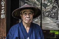 Kiso Man (FinchFabio) Tags: travel japan nippon giappone valley kiso man face faccia portait ritratto volto uomo vecchio old traditional pentax pentaxiani pentaxk3 k3