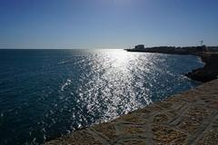 Cadiz seaside (van1o) Tags: shore bech spain cadiz beach andalusia sun sky blue brown