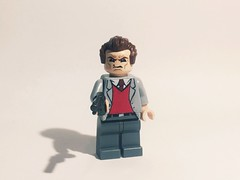 """Do ya feel lucky? Well, do ya, punk?"" (Theindianaevan) Tags: legoharrycallahan legodirtyharry dirty harry clint eastwood minifigure custom lego dirtyharry harrycallahan"