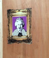 god save the queen (JudyGr) Tags: img4943b graffiti street art pasteup punk queen endless london