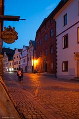 esk Krumlov (Walk 3680) Tags: europa europe jihoeskkraj krumauandermoldau moldau tsjechi unesco vakanties vltava wandelingen wandelkrant werelderfgoed zaton zuidbohemen d50 middeleeuwsestad nikon eskrepublika eskkrumlov world heritage