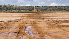 _DSC9476 (slackest2) Tags: road track path outback donga bush simpson desert south australia water red dirt sky