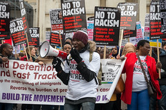 Stand Up to Racism - London protest, 20th March 2015 (The Weekly Bull) Tags: london protest trafalgarsquare demonstration un unitednations fascism racism antiracism m21 standuptoukip